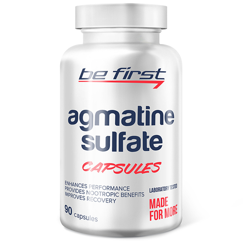 Agmatine Sulfate Capsules, 90 капсул