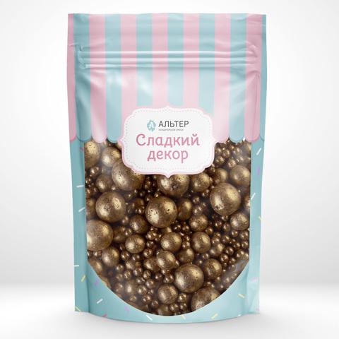 Воздушный рис Альтер в шоколадной глазури Бронзовый 100 гр