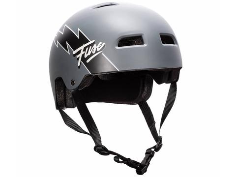Шлем Fuse Alpha Flash серый
