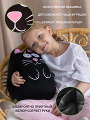 Муфта-подушка антистресс Gekoko «Кот черный» 2