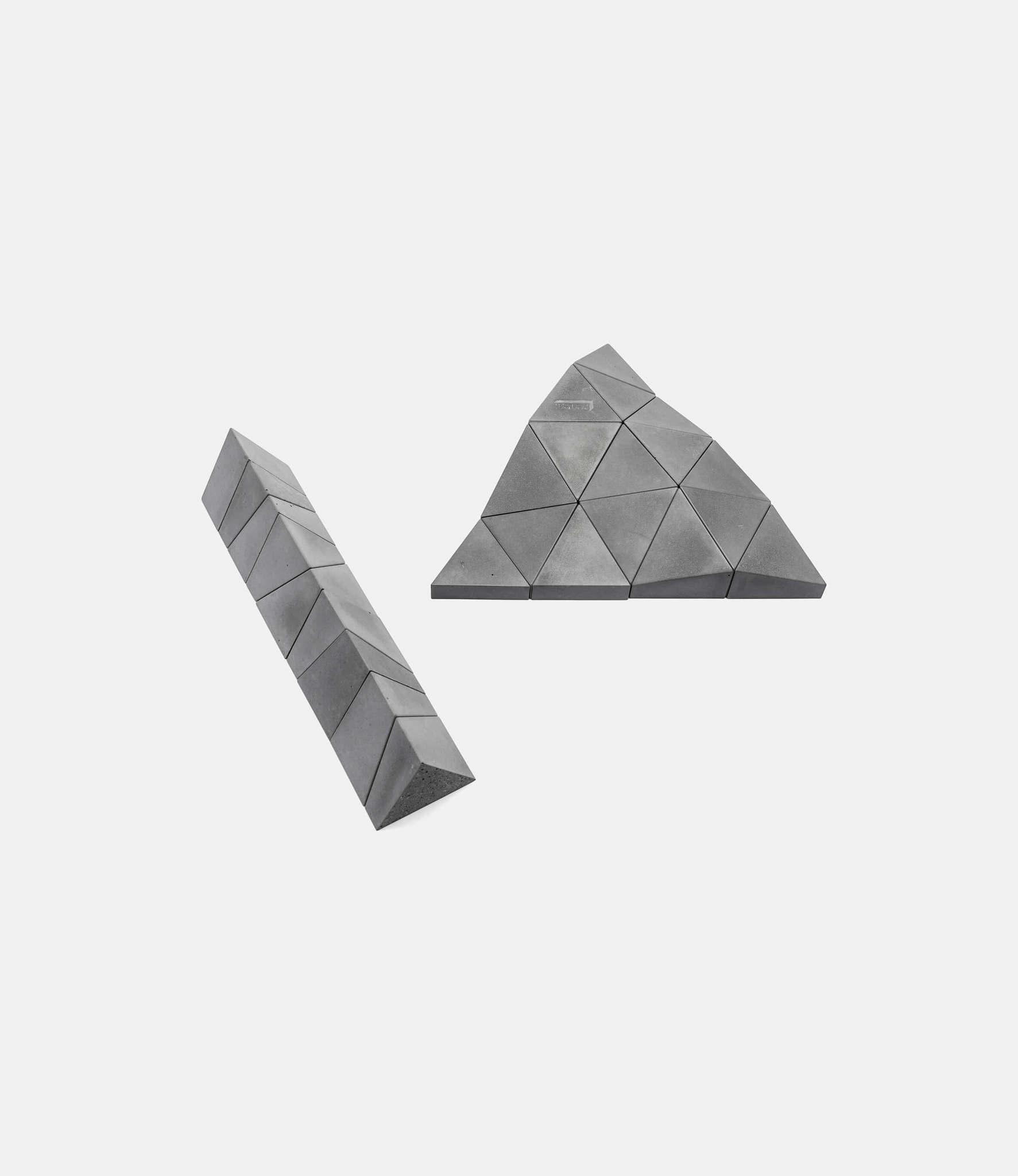 Logideez Logifaces Beginner Set Ash — пазл из бетона: пепельный