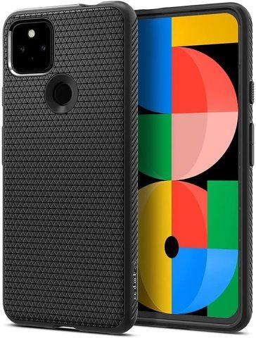 Чехол Spigen Liquid Air Armor для Google Pixel 5a 5G (2021) - Matte Black