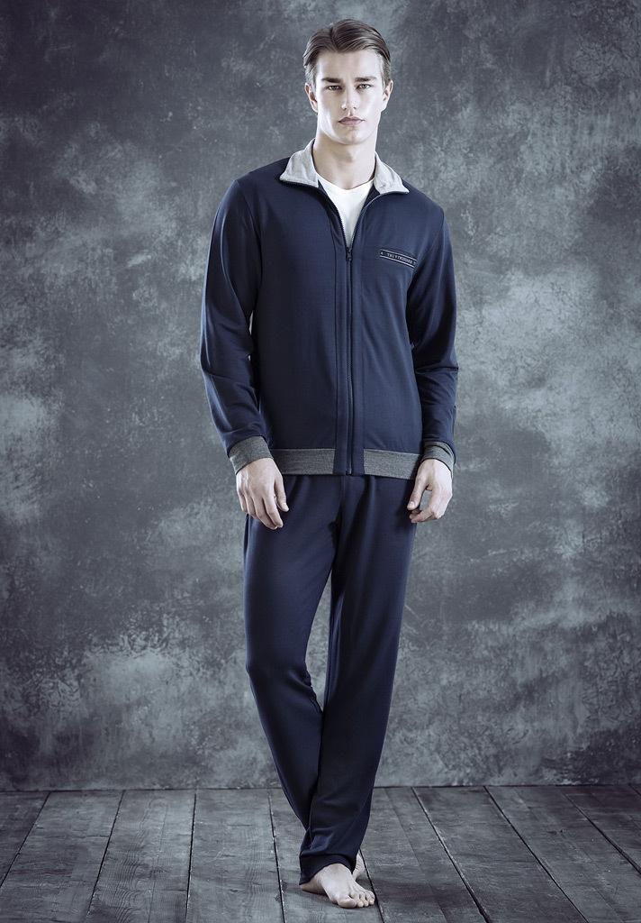 Мужской домашний костюм на молнии Trussardi