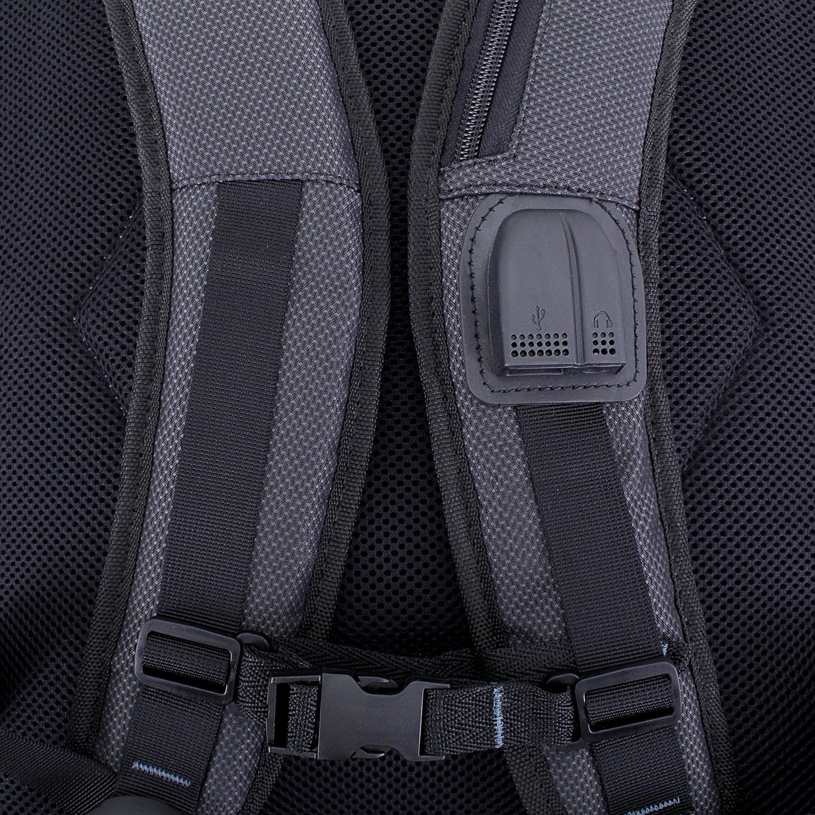 Рюкзак для ноутбука Bagland Tibo 23 л. Чёрный (0019066) фото 5