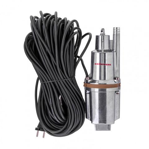 Вибрационный насос KVP300-40, 1080 л/ч, подъем 70 м, кабель 40 метров Kronwerk