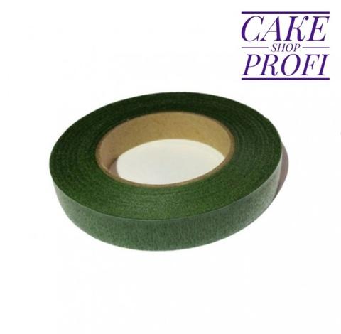 Тейп-лента Зеленая 1,2см (27м)
