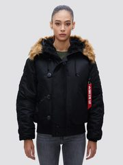Парка Alpha Industries N-2B Black (Черная)