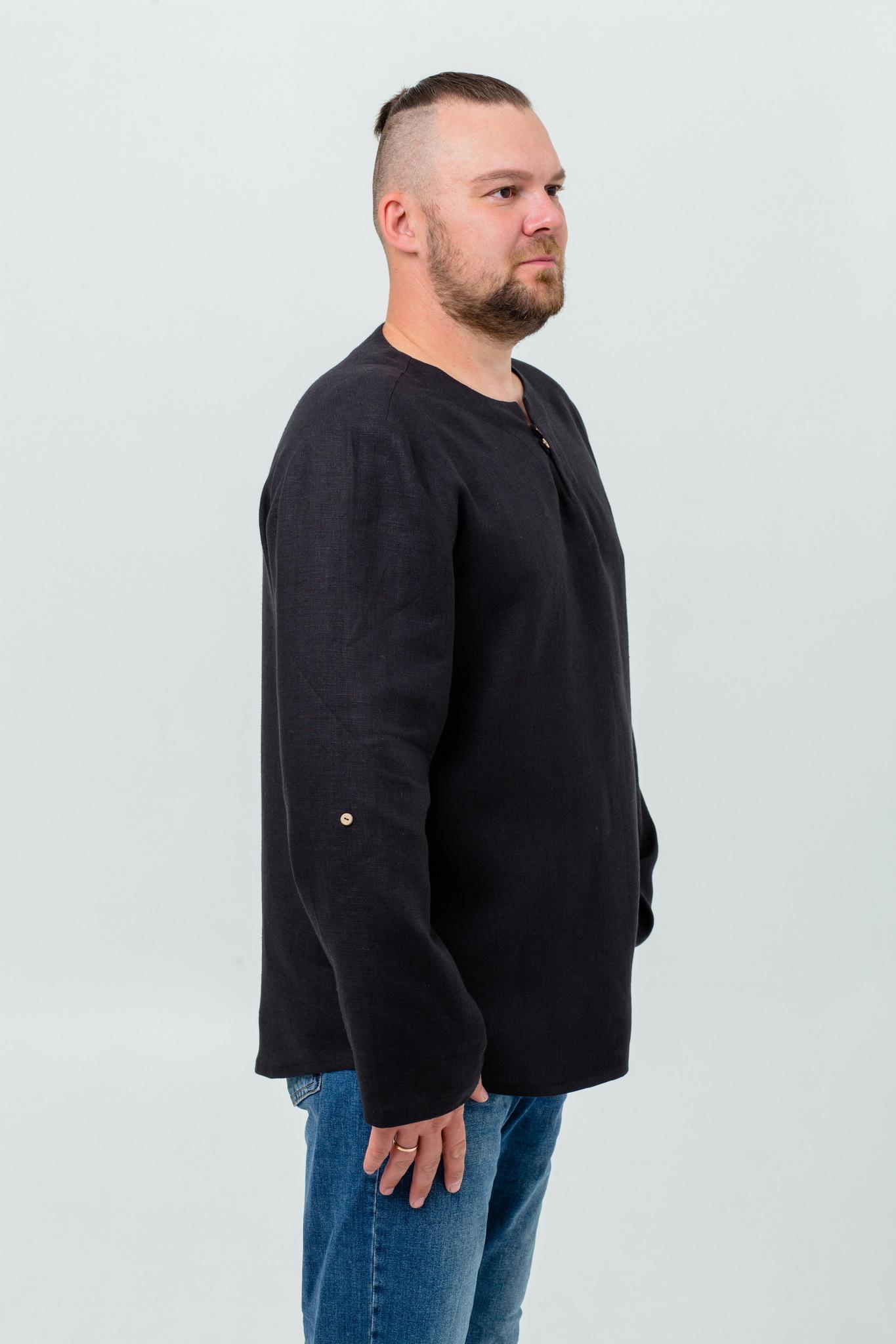 Рубаха мужская в русском стиле Черноморская