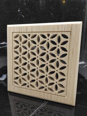 Решетка декоративная деревянная на магнитах Пересвет К-12 200х200мм