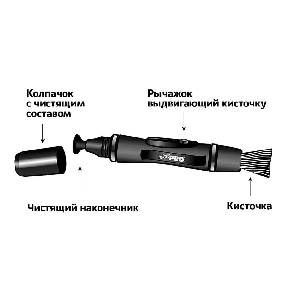 Чистящий карандаш LENSPEN MCP-1 для смартфонов и объективов до 4 мм