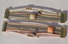 Византия -квадрат ( браслет из кожи)