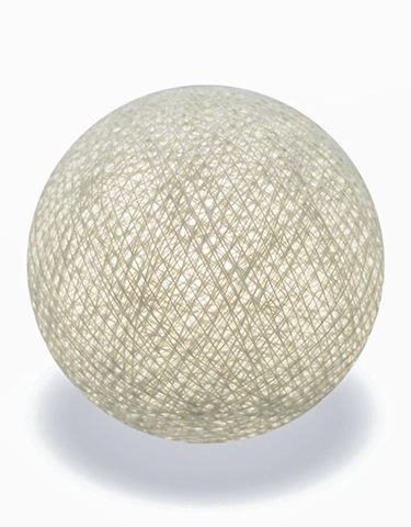 Хлопковый шарик лён