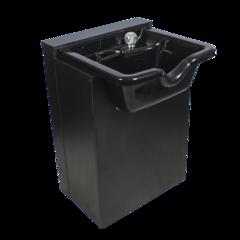 Парикмахерская мойка МД-212, комплектуется черной пластиковой раковиной, каркас ЛДСП