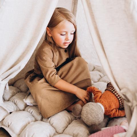 Вигвам для детей из льна