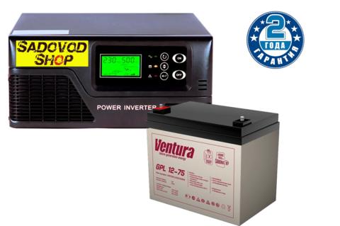 Комплект ECOVOLT SMART 312+VENTURA GPL 12-75