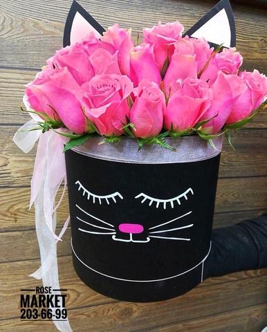 Розы в шляпной коробке #19992