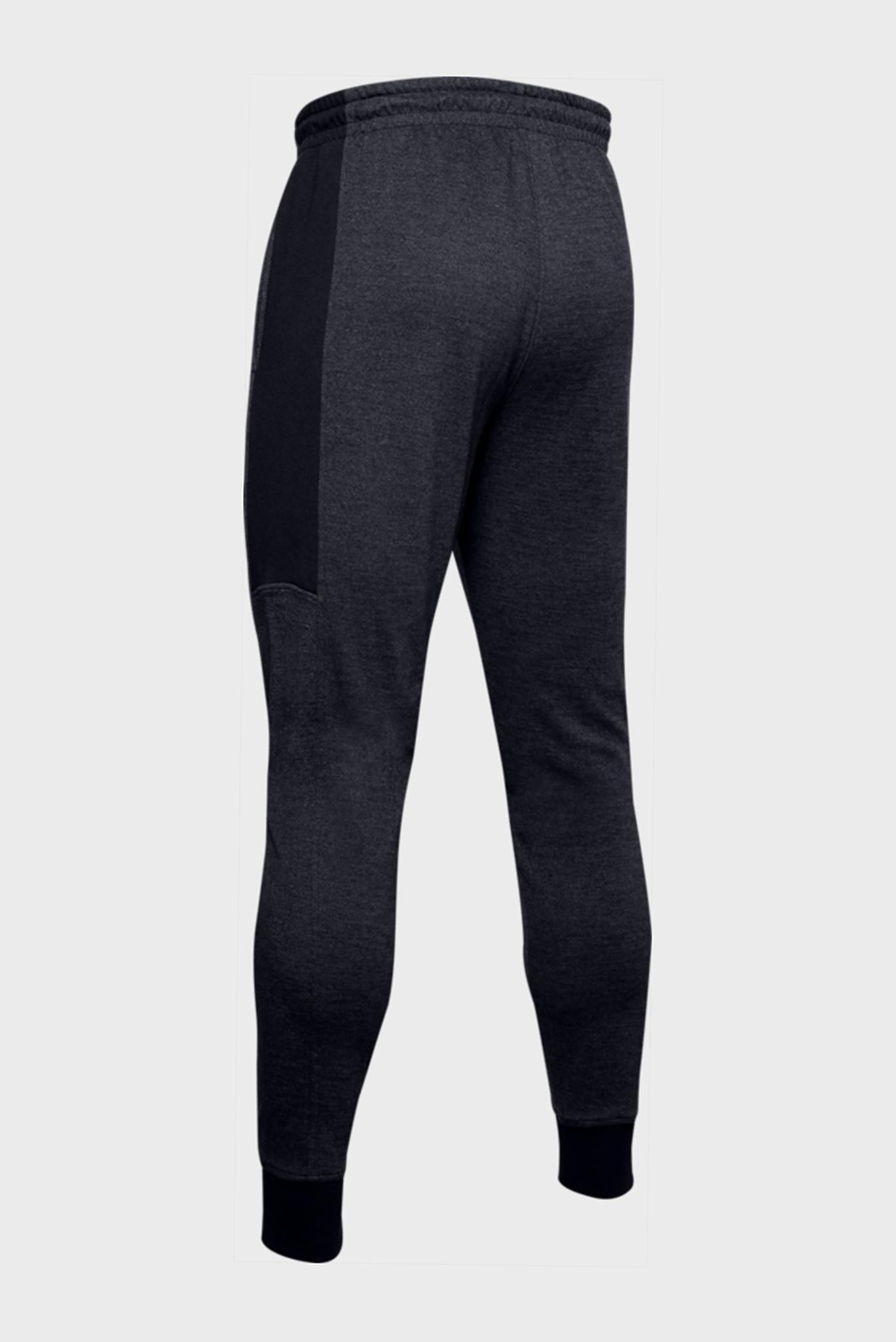Мужские черные спортивные брюки DOUBLE KNIT JOGGER Under Armour