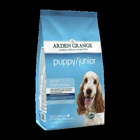 Arden Grange Puppy&Junior Сухой корм для щенков и молодых собак
