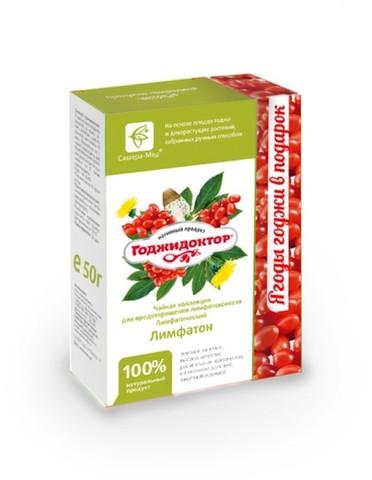 Чай Годжидоктор Лимфатический, 50гр+20 гр. (Сашера-Мед)