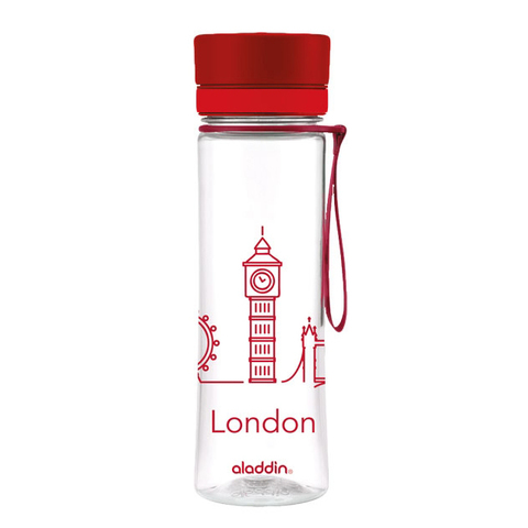 Бутылка Aladdin Aveo London (0,6 литра), красная