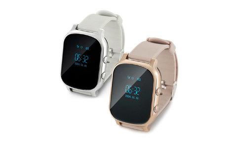 Детские часы с GPS трекером Smart Baby Watch T58 Gold