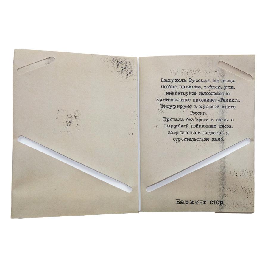 Выхухоль / обложка для паспорта