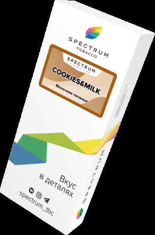 Табак Spectrum Classic Line Cookies & Milk (Печенье с Молоком) 100г