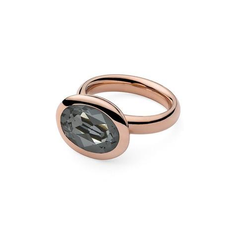 Кольцо Tivola Silver Night 18.5 мм 650606 BW/RG