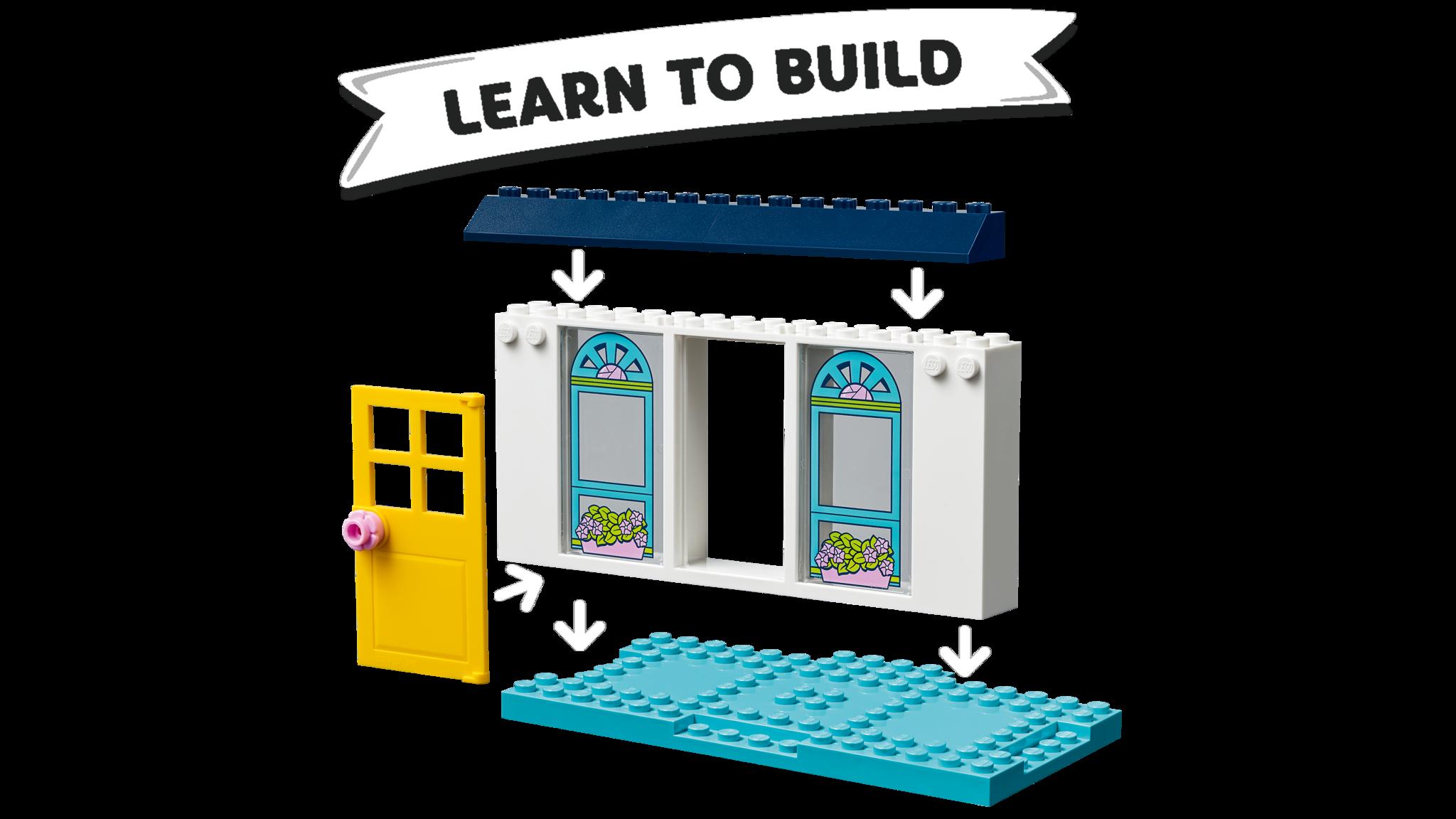LEGO Friends 41398 Конструктор ЛЕГО Подружки Дом Стефани