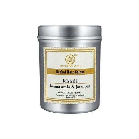 """Хна для волос """"Амла и Ятрофа"""" Khadi Natural, 150 гр"""