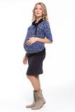 Юбка для беременных 06599 черный