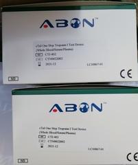 CTI-402 Экспресс-тест для определения Тропонина I (ABON cTnI Rapid Test)
