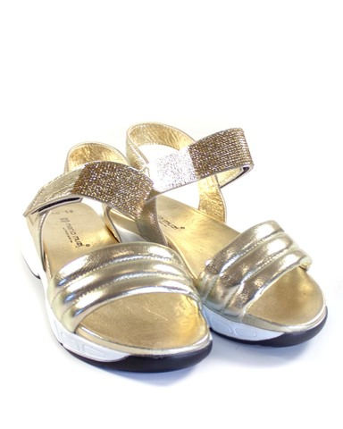 золотистые сандалии Mario Muzi