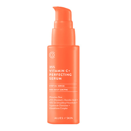 Сыворотка для лица Allies of Skin 35% Vitamin C Collagen Rebuilding Serum 30 мл