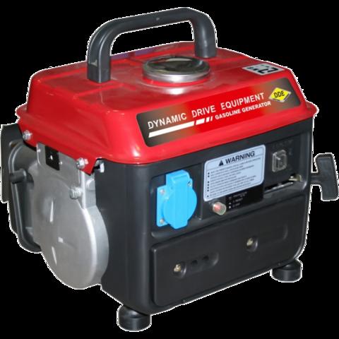 Генератор бензиновый DDE GG950DC. однофазн.ном/макс.  0,65/0,72 кВт (UP65, 2-х тактн дв,, ручн/ст, 4,2л, 18,5кг)