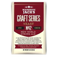 Дрожжи Mangrove jack's M42 New world strong ale на 23 литра пива