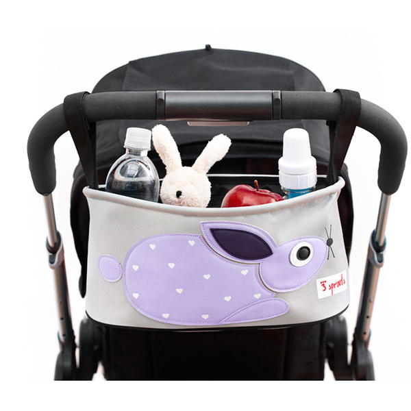 Сумка-органайзер для коляски 3 Sprouts Кролик (фиолетовый)
