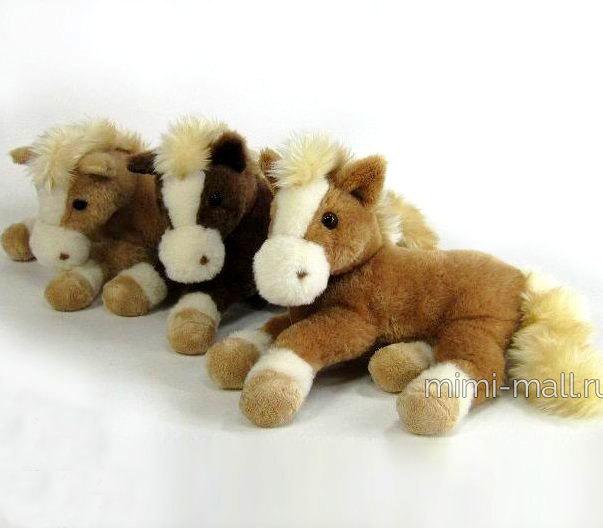 Мягкая игрушка Лошадь 30 см (Leosco)