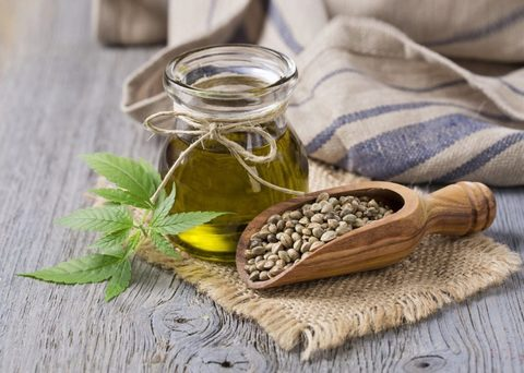 Фреш-масло из семени конопли