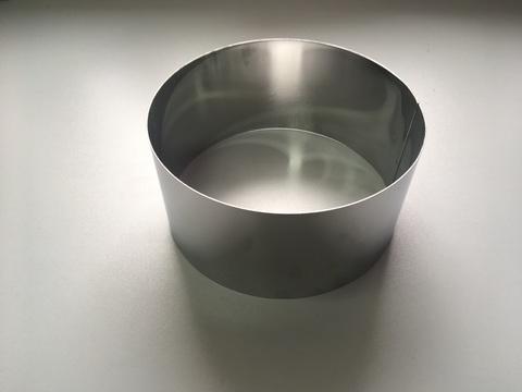 Кольцо-резак для торта H10 D20, нерж. сталь 1 мм.