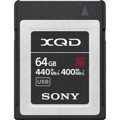 Карта памяти Sony XQD 64GB QD-G64F G серия 440/400 MB/s