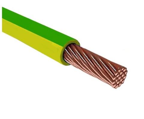 Провод ПуГВнг(А)-LS 1х1,0 ГОСТ (500м), желто-зеленый TDM
