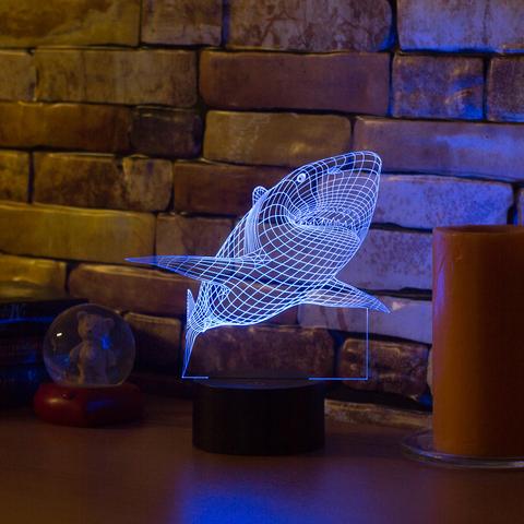 Лампа Акула