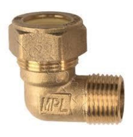 Угольник труба- наружняя резьба (папа) EМ 25*1