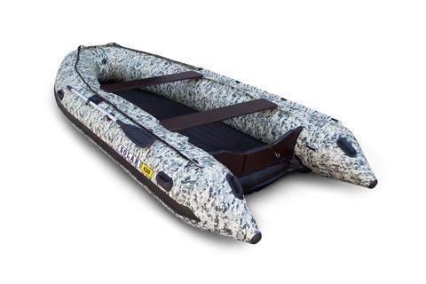 Надувная ПВХ-лодка Солар Максима - 420 К (пиксель)