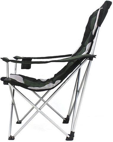 Кресло складное Canadian Camper CC-128, вид сбоку.