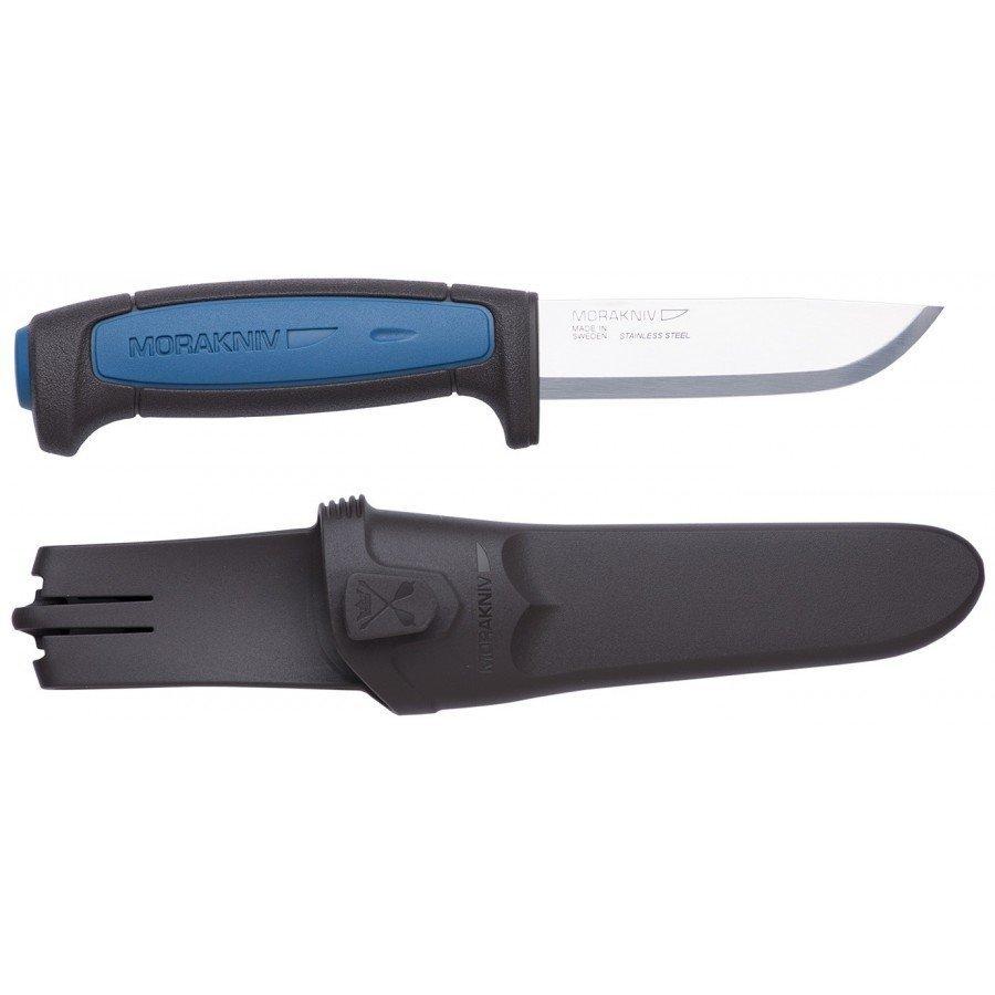 Нож Morakniv Pro S, нержавеющая сталь, черный/синий
