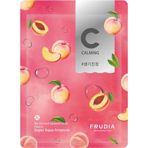 Frudia Маска тканевая питательная с персиком - My orchard squeeze mask peach, 20 мл