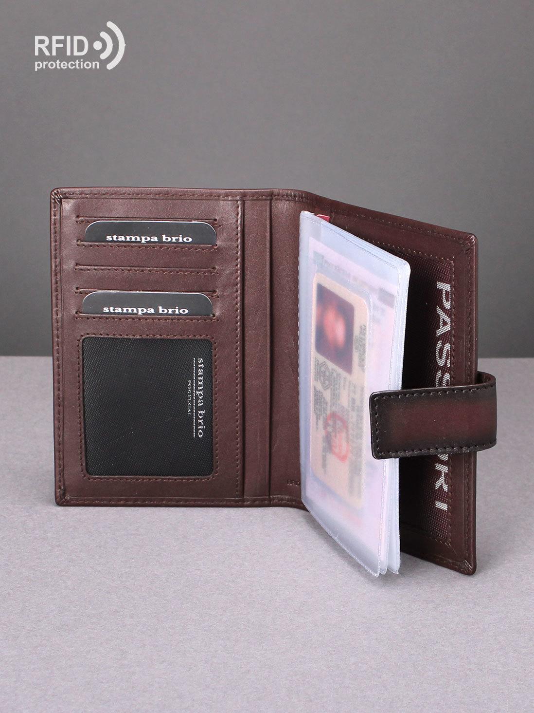 210 R - Обложка для документов с RFID защитой