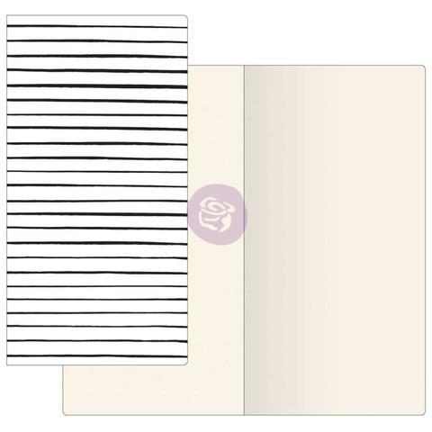 Внутренний блок для блокнотов -Prima Traveler's Journal Notebook Refill - Modern Dots W/Ivory Paper